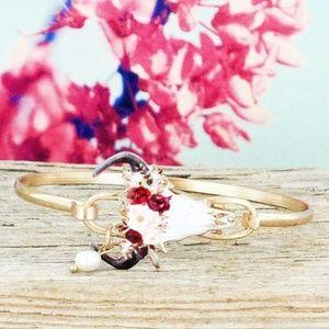 Cow Skull bracelet